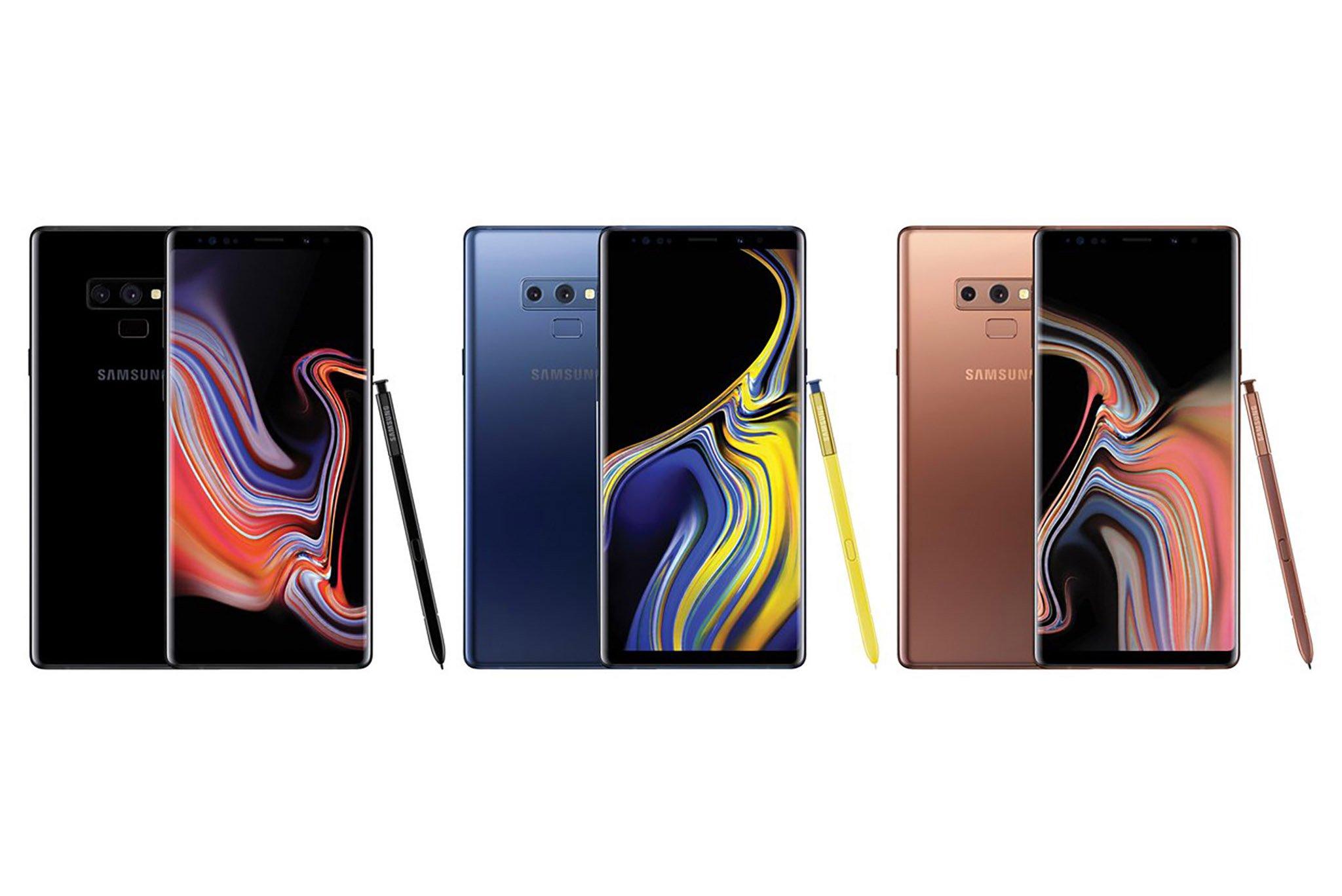 Tổng hợp các tin rò rỉ về Samsung Galaxy Note 9 trước ngày ra mắt.