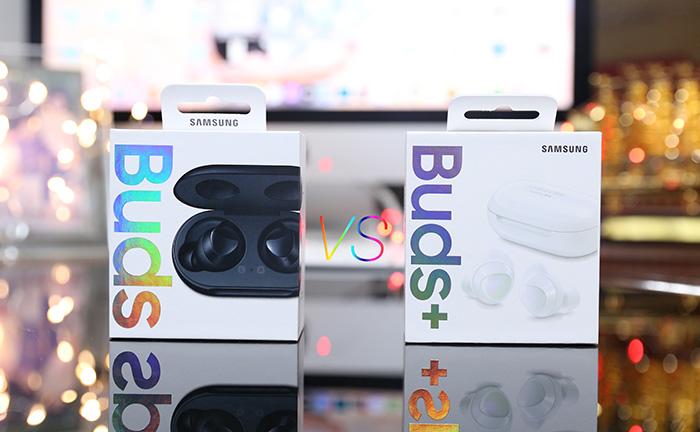 So sánh Galaxy Buds và Galaxy Buds+ 2020