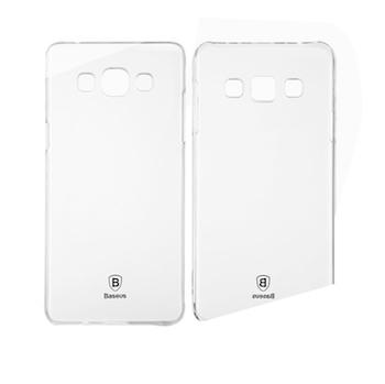 Ốp lưng nhựa cứng trong vắt Galaxy A8 hiệu Baseus