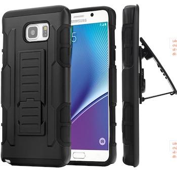 Ốp lưng chống sốc Galaxy Note 5 cả 2 mặt