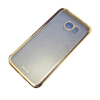 Ốp lưng nhựa dẻo viền vàng Galaxy S7 G930