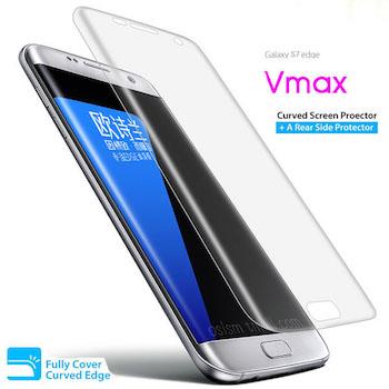 Dán full màn hình loại dẻo Galaxy S7 Edge hiệu V Max