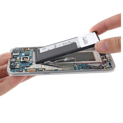Thay pin Galaxy S7 Edge chính...