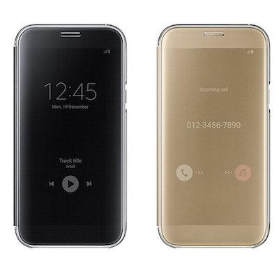 Bao da Clear View Cover Galaxy A7 2017 chính hãng