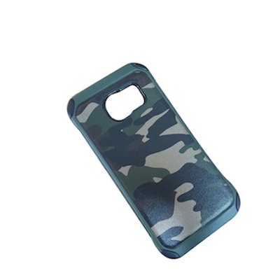 Ốp lưng chống sốc kiểu rằn ri quân đội cho Galaxy S8 Plus