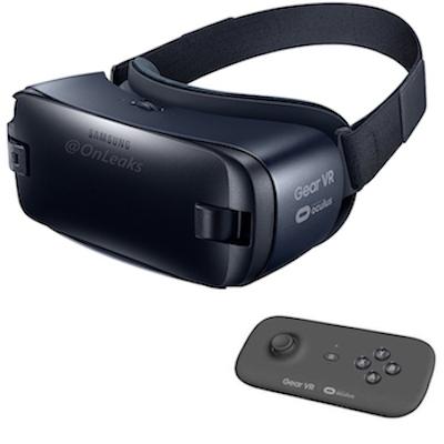 Kính thực tế ảo Samsung Gear VR type C Galaxy S8/S8+ kèm tay điều khiển