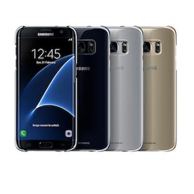 Ốp lưng Clear Cover Galaxy S7 Edge chính hãng