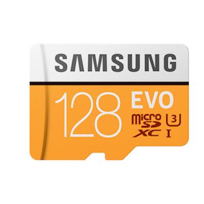 Thẻ nhớ Samsung Evo  SDXC 128 Gb chính hãng