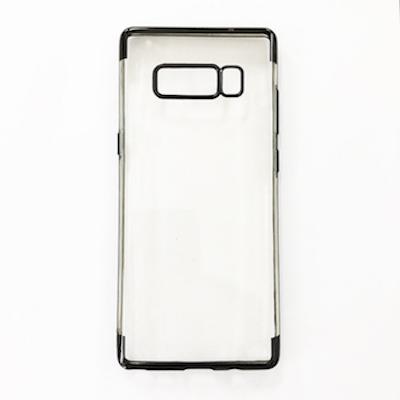 Ốp lưng silicon dẻo viền màu cho Galaxy Note 8