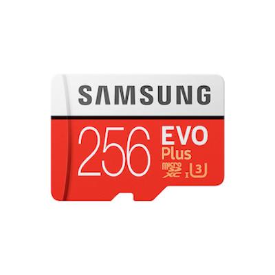 Thẻ nhớ 256Gb Samsung Evo Plus class 10 U3 4K chính hãng