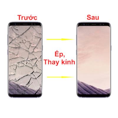Ép kính màn hình Galaxy S8 chính hãng