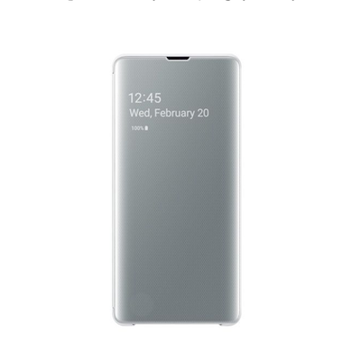 Bao da Clear view Galaxy S10 hiển...