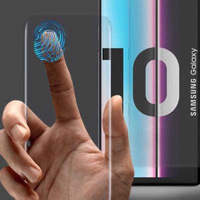 Dán màn hình Galaxy S10+ chính hãng dùng được vân tay
