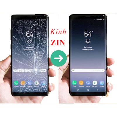 Ép kính màn hình Galaxy Note 9 kính zin theo máy