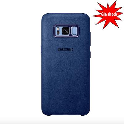 Ốp lưng Alcantara Galaxy S8+ chính hãng giá shock