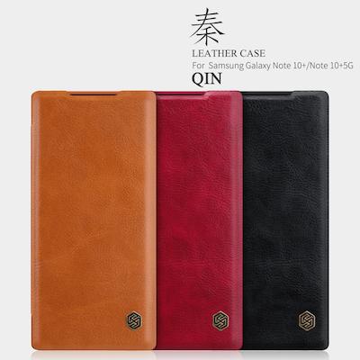 Bao da Nillkin Qin Galaxy Note 10+