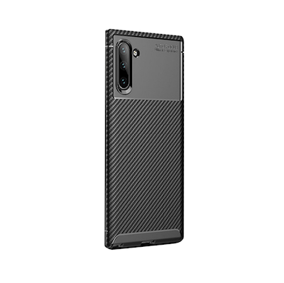 Ốp lưng Galaxy Note 10 plus mặt sau dạng vân cacbon