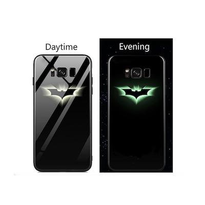 Ốp lưng Galaxy Note 10+ logo Batman phát sáng