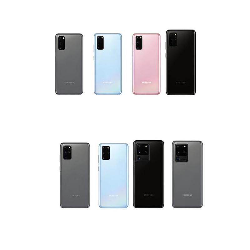 Nắp lưng kính chính hãng thay thế cho Galaxy S20+